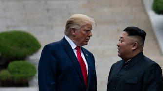 Kim e Trump