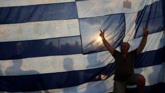 Grecia, proteste del partito Syriza contro le misure di austerità (LaPresse)