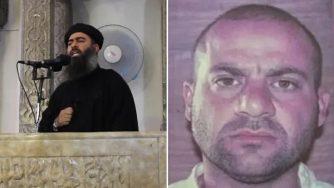 Al Baghdadi e Abdullah Qardash (LaPresse/Google)