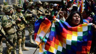Le proteste in Bolivia (LaPresse)