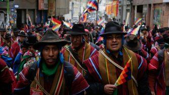 Bolivia, proteste