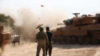Siria, esercito turco