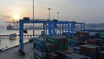 Container a Mombasa (LaPresse)