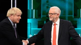 Jeremy Corbyn a Boris Johnson