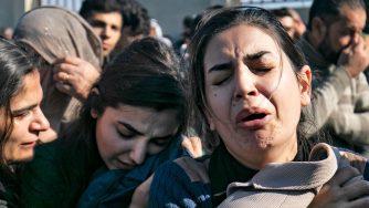 Donne curde in Siria (LaPresse)