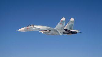 Sukhoi in volo
