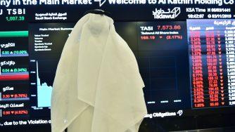 La quotazione in borsa della saudita Aramco (LaPresse)