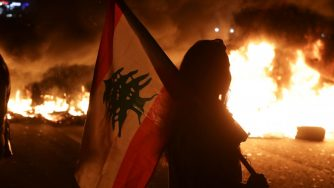 Libano proteste a Biblo