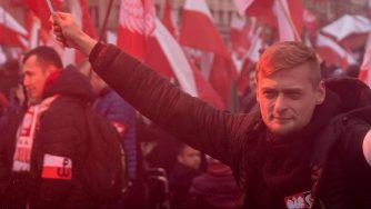 Polonia, marcia dell'estrema destra nel centenario dell'indipendenza (LaPresse)