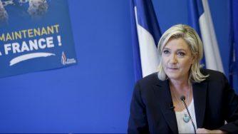 Marine Le Pen Francia