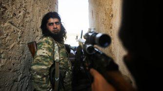Siria miliziano filoturco