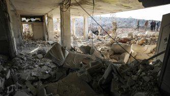 Siria, bombardamento