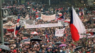 La Rivoluzione di Velluto in Cecoslovacchia