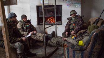 Ucraina, soldati in guerra