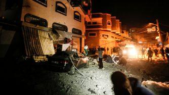 Raid a Gaza contro Baha Abu Al.Ata