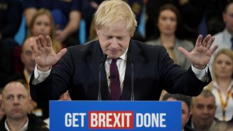 Boris Johnson (LaPresse)