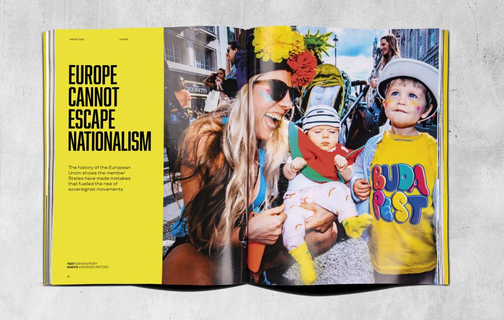 L'articolo del famoso economista Ashoka Mody sul nazionalismo in Europa