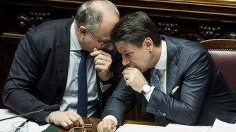 Gualtieri e Conte (LaPresse)