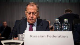 Il ministro degli Esteri russo Sergey Lavrov (LaPresse)