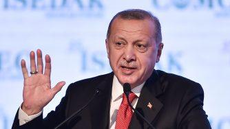 Il presidente turco Recep Tayyip Erdogan (LaPresse)