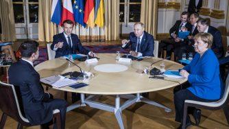 Vertice a Parigi su Ucraina