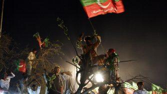 Le proteste in Pakistan del 2015 (LaPresse)
