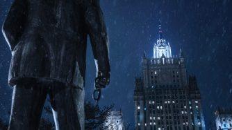Russia statua