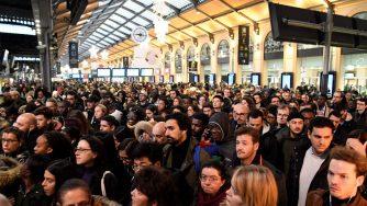 Parigi sciopero