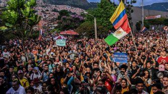 Proteste in Colombia (LaPresse)