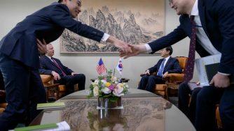 I rapporti tra Corea del Sud e Stati Uniti (LaPresse)