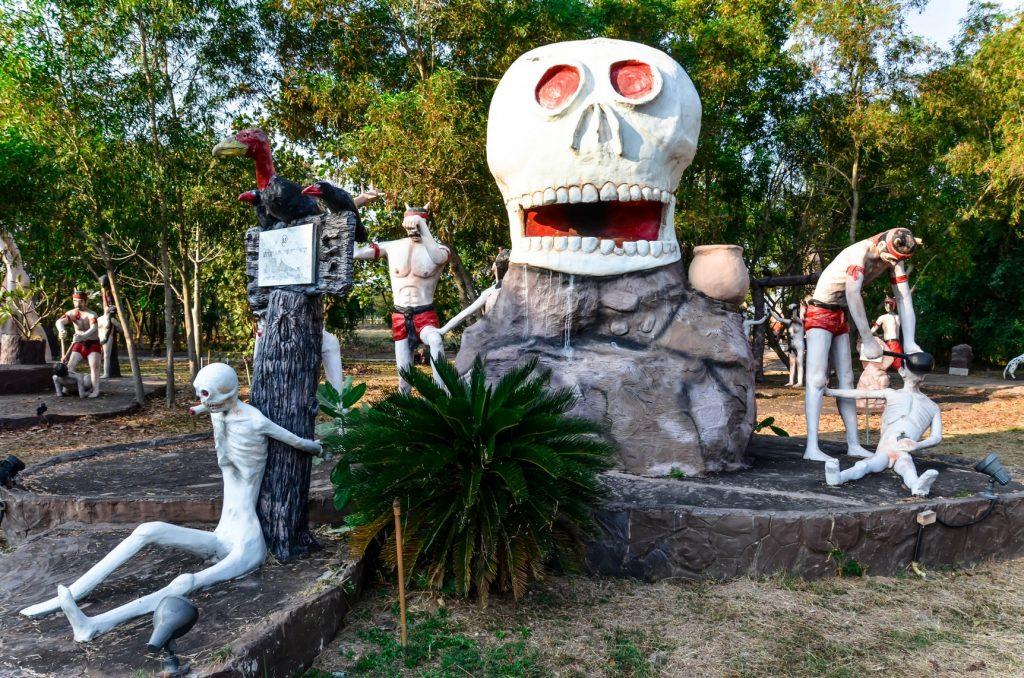 Viaggio nell'inferno buddista