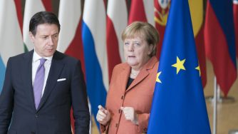Conte e Merkel (La Presse)