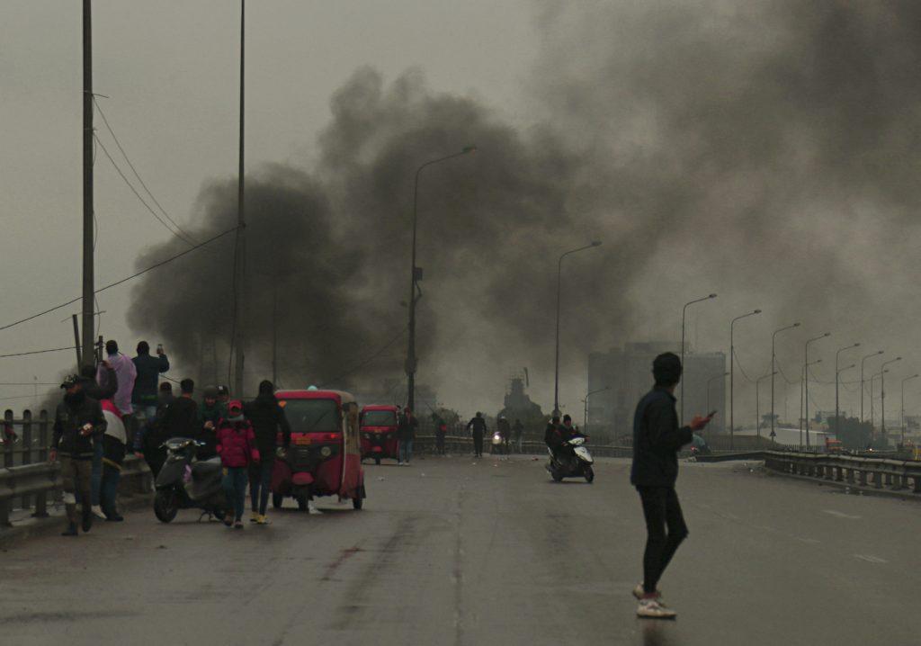 Le milizie sciite guidano le proteste in Iraq
