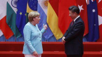 Merkel e Xi
