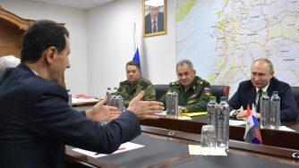 Bashar al Assad e Vladimir Putin (LaPresse)