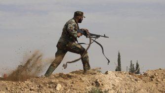 Siria, combattente