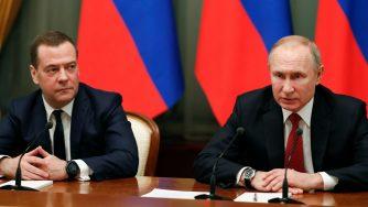 Medvedev dimissioni