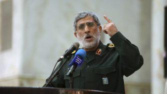 Iran Esmail Ghaani (LaPresse)
