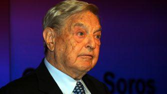 George Soros (LaPresse)