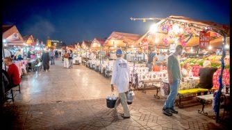 Marrakech in Marocco (LaPresse)
