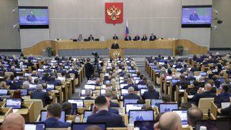 Nuovo governo russo (LaPresse)