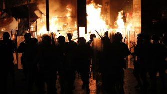 Ancora proteste in Libano (La Presse)