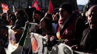 Francia protesta sciopero (La Presse)
