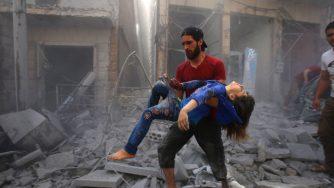 Raid turchi e russi siriani su Idlib (LaPresse)