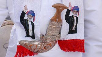 Il sultano dell'Oman (LaPresse)