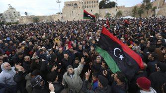 Tripoli funerali (La Presse)