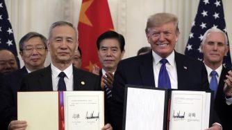 Accordo tra Cina e Stati Uniti per i dazi (La Presse)