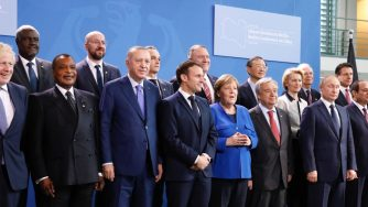 Vertice di Berlino sulla Libia (LaPresse)