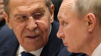 Putin e Lavrov (Getty)