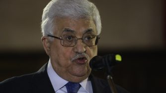 Abu Mazen (LaPresse)